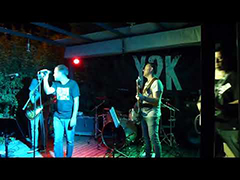 Take me out (extract) - Franz Ferdinand cover by y2k - live @ Aix en Provence